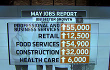 May jobs report shows hiring remains strong