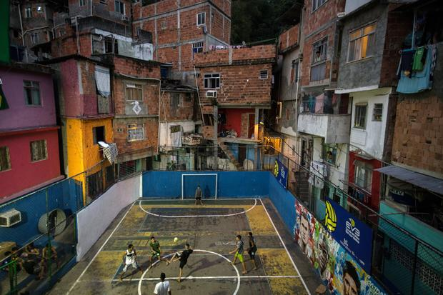 Preparing for the World Cup 2014 in Brazil