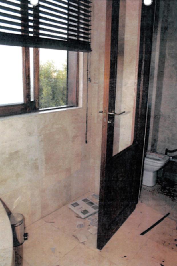 Oscar Pistorius' apartment