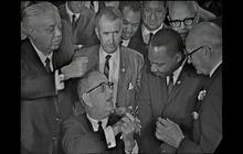 From the archives: LBJ signs the Civil Rights Act