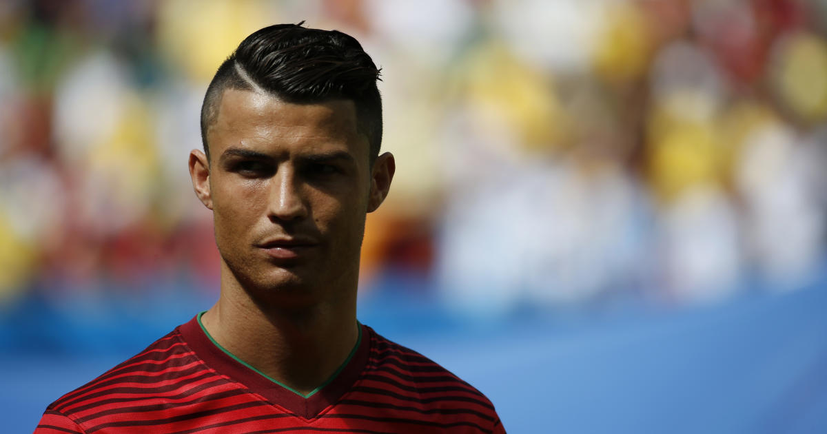 Cristiano Ronaldo Hairstyles Of The World Cup Pictures Cbs News