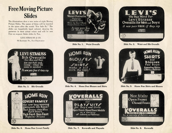 Levi's ads over the years