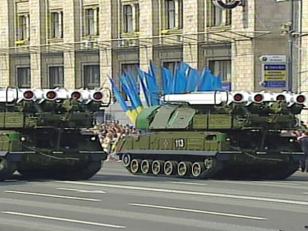 """Buk"" mobile surface-to-air missile systems"