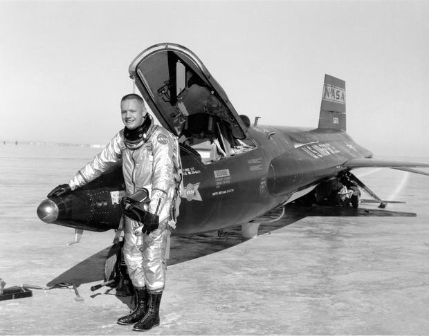 Armstrong as test pilot