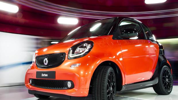 Tiny Smart car gets a revamp