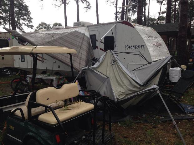 Deadly storm hits Virginia campground