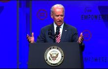 "Joe Biden: Voter ID laws aim to ""repress minority turnout"""