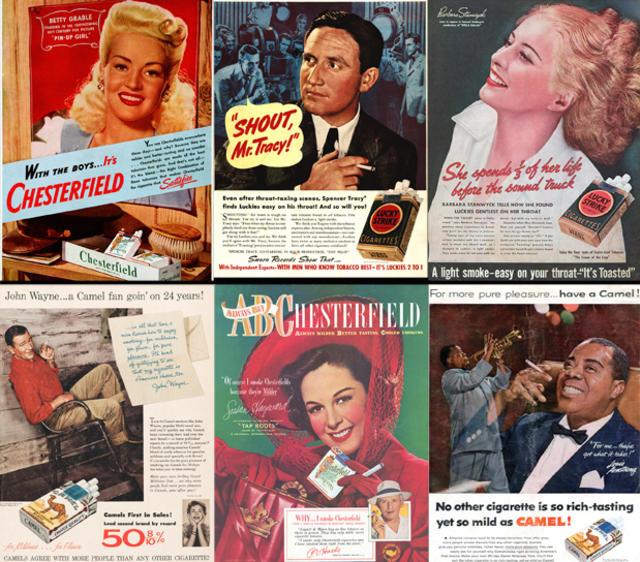 Outrageous Vintage Cigarette Ads Cbs News