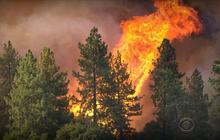 Massive wildfires rage across northern California