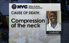 NYPD chokehold: Death ruled a homicide
