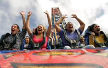 Experience flight on Superman: Escape from Krypton