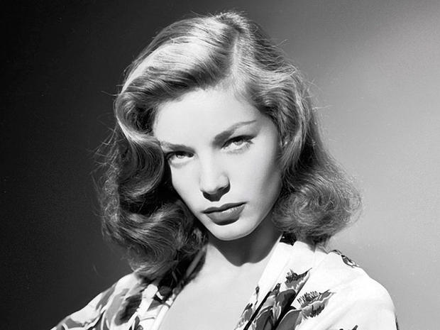 1940s publicity shot of Lauren Bacall