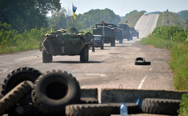 Fighting continues in Ukraine