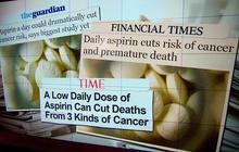 Does an aspirin a day keep cancer away?