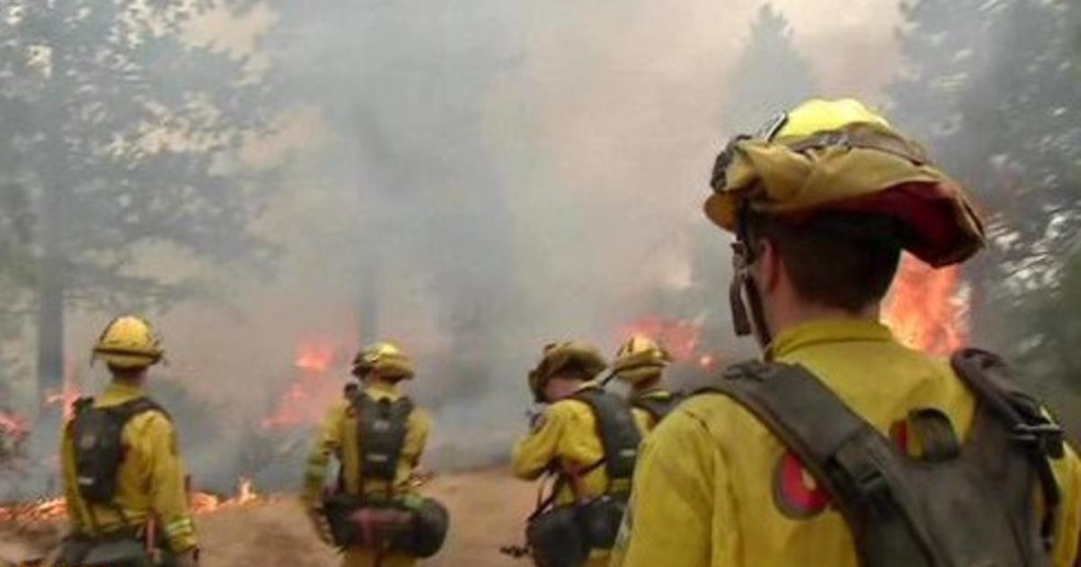 3 California firefighters survive after being trapped by blaze