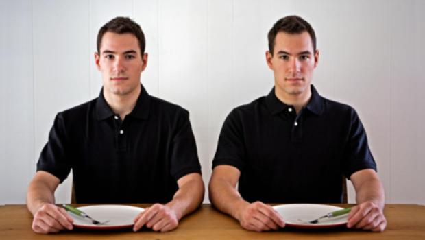 Identical Twin Men