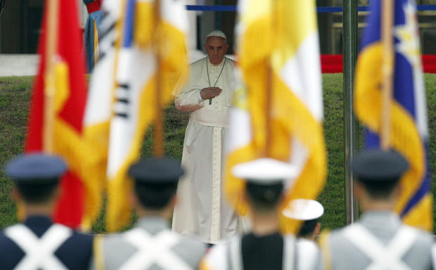 Pope Francis visits South Korea