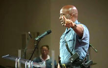 Captain Ron Johnson speaks about Michael Brown shooting at Ferguson church rally