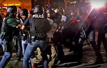 Ferguson pleads with residents to stay indoors