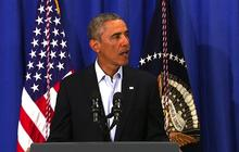 "Obama: Entire world ""appalled"" at ISIS executing James Foley"