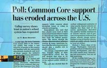 Common Core losing support, poll finds