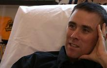 """Wounded Boston officer: """"I was out for up to 45 minutes"""""""