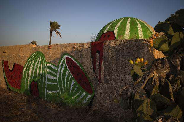 Street murals bloom in Tunisia