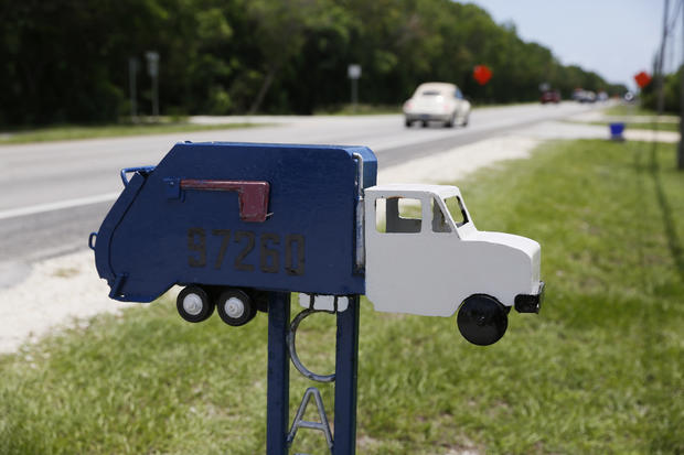 Mailboxes of the Florida keys