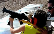Should children be allowed to fire guns even under supervision?
