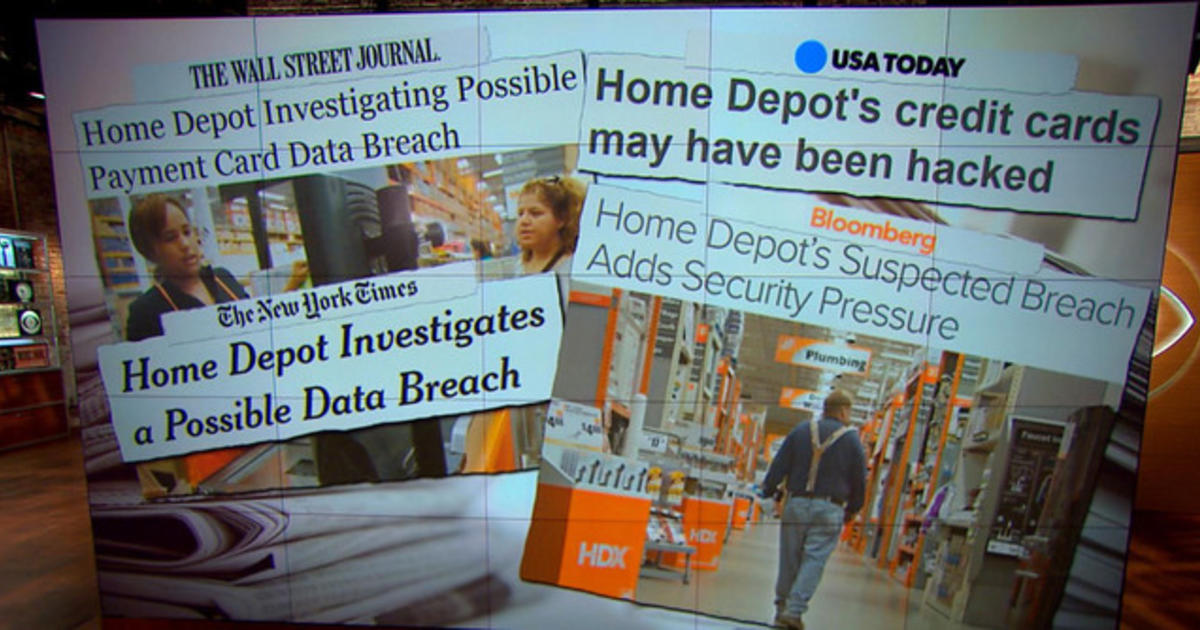 Home Depot investigates possible data breach Videos CBS News