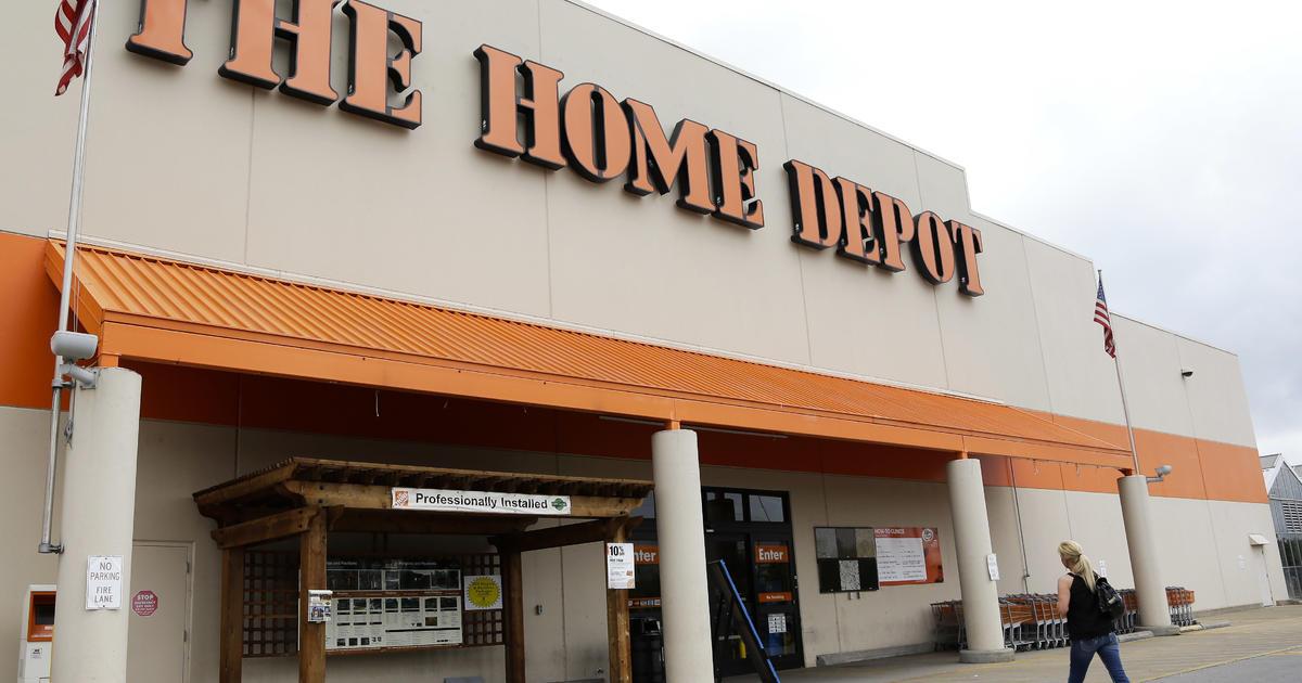 home depot phasing out toxic vinyl flooring cbs news. Black Bedroom Furniture Sets. Home Design Ideas