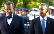 Obama meets with Baltic leaders to show solidarity