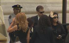 Star-studded sendoff for late comedian Joan Rivers