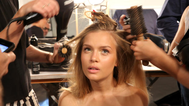 New York Fashion Week Spring 2015: Behind the Scenes