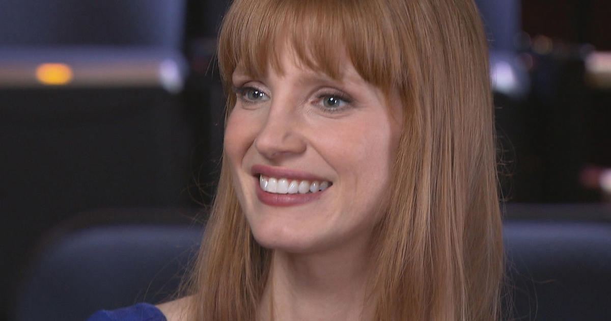 The Brightly Burning Star That Is Jessica Chastain Cbs News