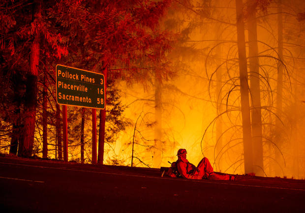 California wildfires spread