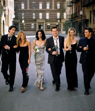 """""""Friends"""" cast: Then and now"""
