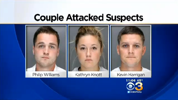 3 Charged With Beating Gay Couple In Philadelphia Are Free On Bail Cbs News