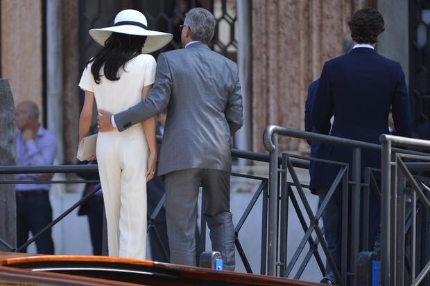 George Clooney and Amal Alamuddin's wedding