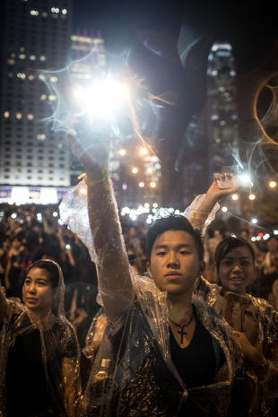 "Hong Kong's ""Umbrella Revolution"""