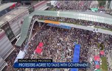 Hong Kong protests continue