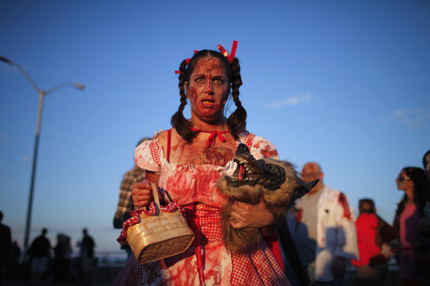 Zombies hit the beach in N.J.