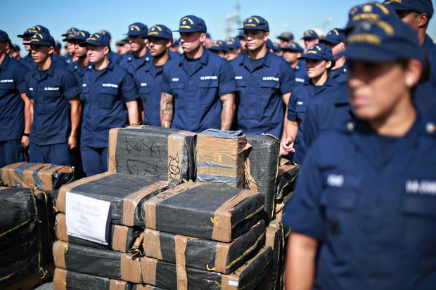 Coast Guard cocaine seizure