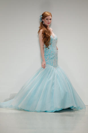 Ariel The Little Mermaid Wedding Dresses Fit For A Disney Princess Pictures Cbs News