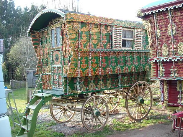 Quot Gypsy Quot Caravans Make A Comeback As Micro Homes Cbs News