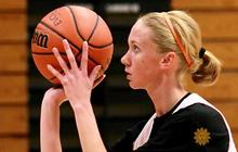 Girl with terminal cancer living for basketball