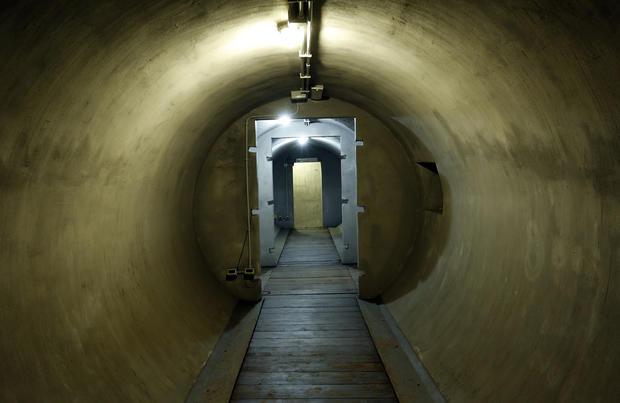 Mussolini's secret bunker