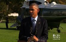 """Obama: Health care workers fighting Ebola doing """"God's work"""""""