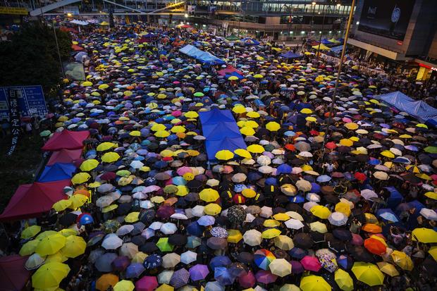 """Umbrella Movement"" one-month anniversary"