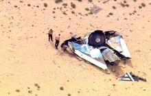 Virgin Galactic's space tourism rocket crashes